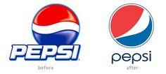 Famous serif vs. sans serif logo changes