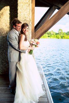 #takesyourbreathaway to see these #twolovers, doesn't it?! ::Jessica + Tyler's romantic wedding in Sea Island, Georgia:: #romantic #bythewater #coupleportraits #mrandmrs #bridal #weddingshots #weddingday #truelove #brideandgroom #bride #groom #gorgeous #weddingphotography #dreamywedding #magicalwedding #olascouple