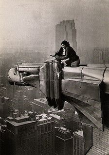 Margaret Bourke-White - Metaphotography on the Chrysler Building