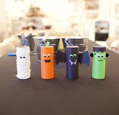 A cute and easy Halloween craft!