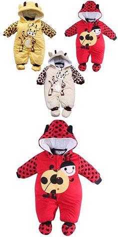 Smart Toddler Baby Clothes Cotton Cartoon Bodysuit Footies Romper