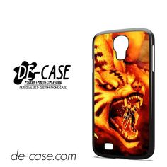 Kurama Nine Tailed Fox Naruto DEAL-6244 Samsung Phonecase Cover For Samsung Galaxy S4 / S4 Mini
