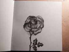 Drow, drowing, deepdrow, art, artist, artmood, artlife, drowlife, rose, take time to smell the rose