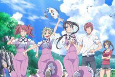 Shochiku Reveals First 'Amanchu!' Blu-ray Anime Release TV Spot