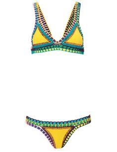 Women Handmade Crochet Bikini Triangle Crochet Bikini