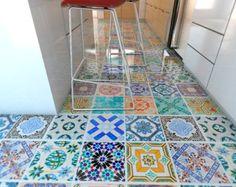 Vinyle Superficie  Tuiles  Carreaux  décoration sol