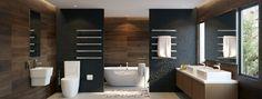 Strata Single Bar Towel Warmers HEIRLOOM » Archipro