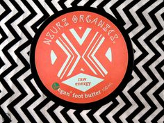 Vegan Raw Energy Foot Butter - Nzuri Organics