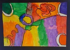 Kandinsky Lines and Shapes  Grade Level: 1st Grade  Art Elements: Line and Shape  Lessons are formatted in PDF for easy download.  The lesson preview is below. -Click on this link: KandinskyLine&Shape to download your free copy of this lesson plan.