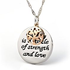 Cheap necklaces for women, Buy Quality necklace necklace directly from China necklace tree Suppliers: YAFEINI Collares New 925 Sterling Silver Round Pendant Necklace Wholesale Silver Loving Family Tree Necklace For Women Family Tree Necklace, Tree Of Life Necklace, Love Necklace, Pendant Necklace, Charms, Letter Pendants, Cheap Necklaces, Custom Necklaces, Engraved Necklace