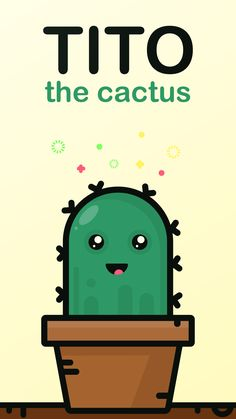 Ready or not, Tito the cactus comes to entertain you! Discover all his moods via this extremely suggestive sticker pack. It's always a good time for new stickers! Get Tito today and enjoy all the future updates for FREE. New Sticker, Emoji, Cactus, Entertaining, App, Stickers, Future, Learning, Free
