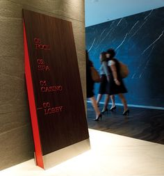awesome wayfinding for the Darling Hotel