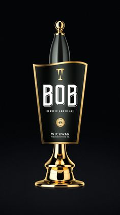 Wickwar - BOB Pump Clip | Design by Halo