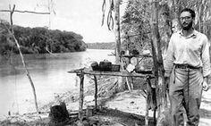 Sad story ... Claude Levi-Strauss in Amazonia in Brazil circa 1936.