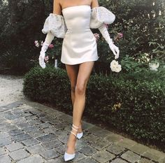 Gala Dresses, Bridal Dresses, Evening Dresses, Looks Chic, Looks Style, Pretty Outfits, Pretty Dresses, Mode Outfits, Fashion Outfits