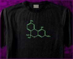 CBN Cannabinol Cannabis Molecule THC Marijuana by DeltaBong, $19.99