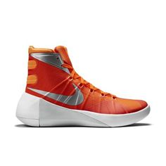 Nike 2015 Womens' Hyperdunk-Orange ^^ Can't believe it's available, see it now : Basketball shoes