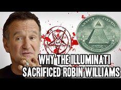 WHY THE ILLUMINATI MURDERED ROBIN WILLIAMS !!! For Satan and $$$