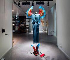 lanvin birds of paradise paris windows (4)