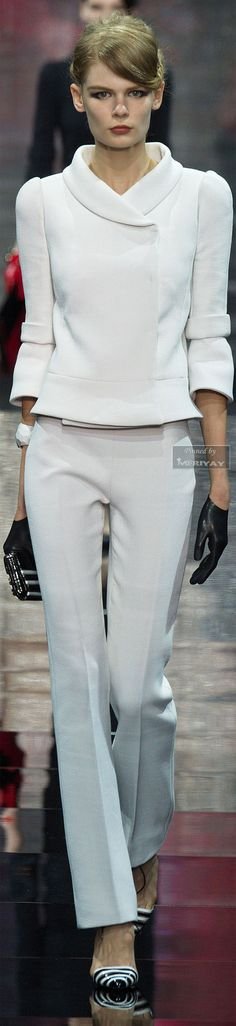 Fashion | Work Weare | Rosamaria G Frangini || FashionCasual | Rosamaria G Frangini || Armani Privé Fall-winter 2014-2015 | The House of Beccaria
