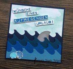 jpp - Karte Urlaubsgruß / Hai / shark / sneak peek / OnStage 2016 / Schauwand Designer / Display Stamper / Stampin' Up! Berlin / Liebesgrüße / love notes  www.janinaspaperpotpourri.de