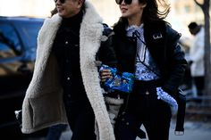 New York Fashion Week Fall 2016 Street Style, Day 3 - -Wmag