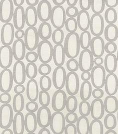 HGTV Home Upholstery Fabric-Looped Fog