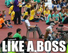 Kekeke kekeke....like a boss!!! #kpop (Eunhyuk? SuJu)