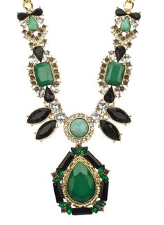 Statement necklace, $23 #lierac #lieracskin #bling #jewelry #bijoux #fashion #style #beauty