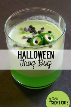 Frog Bog for Halloween on Science Party