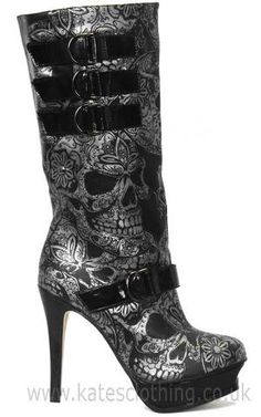 SKULL BOOTS..Am I In Heaven???