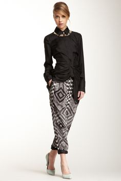 I discovered this Printed Silk Blend Pant on Keep. View it now.