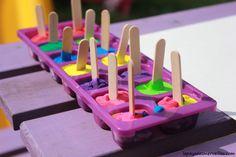 Peinture glaçons gouache - activité manuelle enfant (2)