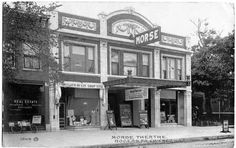 1912 Morse Theater in Rogers Park... Across the street from Apartment #5!