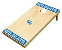 Kentucky Wildcats Cornhole - A tailgate must! Tailgate and Kentucky Game, University Of Kentucky Football, Kansas State University, Kansas State Wildcats, My Old Kentucky Home, Kentucky Wildcats, Tailgate Games, Tailgating, Bar Games