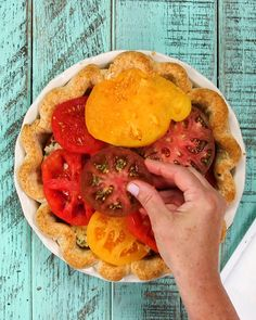 Vegetable Recipes, Vegetarian Recipes, Tomato Pie Recipes, Cooking Recipes, Healthy Recipes, Summer Recipes, Great Recipes, Favorite Recipes, Green Tomato Pie