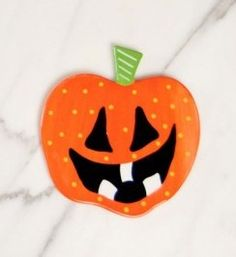 Fun Jack O Lantern attachment to for your Happy Everything Big Base. Halloween.