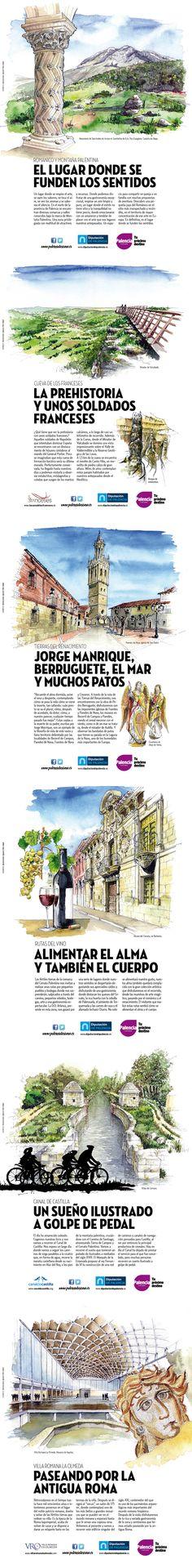 Publicidad para turismo de Palencia. Mayo de 2015.