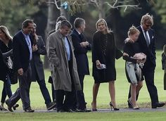 ♥•✿•QueenMaxima•✿•♥...August 10, 2017...Funeral of Jorge Zorreguieta, father of Queen Maxima