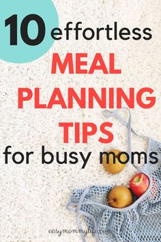 Kids Meals 10 Incredibly Easy Meal Planning Tips For Busy Moms. Here are proven meal planning tips for beginners and busy moms. Understand how you can start healthy meal planning for your family and build a weekly meal plan that everyone loves. Planning Menu, Planning Budget, Meal Planning For Kids, Healthy Fruits, Healthy Eating, Healthy Recipes, Diet Recipes, Healthy Moms, Healthy Cooking
