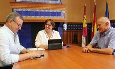 La delegada de la Junta en Ciudad Real visita Villamanrique