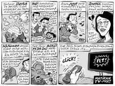 Mice Cartoon: Matikan TV-mu (Kompas Minggu 08 Desember 2013)