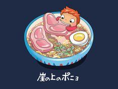 Shop Ghibli anime t-shirts designed by patatohead as well as other anime merchandise at TeePublic. Hayao Miyazaki, Studio Ghibli Art, Studio Ghibli Movies, Manga Anime, Anime Art, Ponyo Anime, Personajes Studio Ghibli, Totoro Merchandise, Chihiro Y Haku