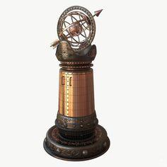 steampunk worldbuilding pillars - Google Search