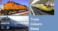 Play the train colours game with your toddler