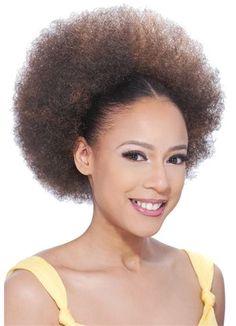 drawstring afro ponytails  | MODEL MODEL Drawstring PonyTail Marimba Girl