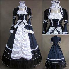 Vestidos Góticos Elegantes