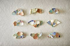 """""""As every Japanese has realized, the waves can take away a great deal from us,"""" says artist Tomomi Kamoshita. But it is also true that we greatly benefit from it."""" Using broken pieces of ceramics that she picked up on the shore, and combining it with pieces of her own broken ceramics, the Tokyo-base"""