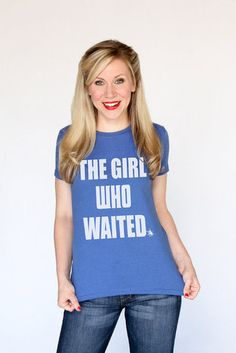 The Girl Who Waited Tee (we are all Amelia Pond!)
