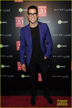 Jesse Metcalfe at Instyle Party 2014.
